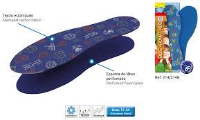 PLANTILLA BLUE AROMAT KIDS
